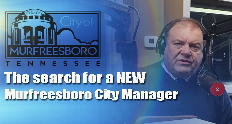 The search for a new Murfreesboro City Manager is taking form