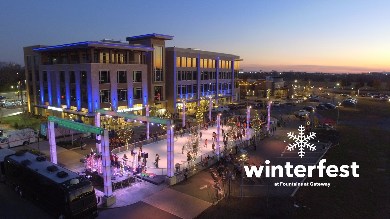 Outdoor Ice Skating and Events, November 17- January 21 at Fountains at Gateway