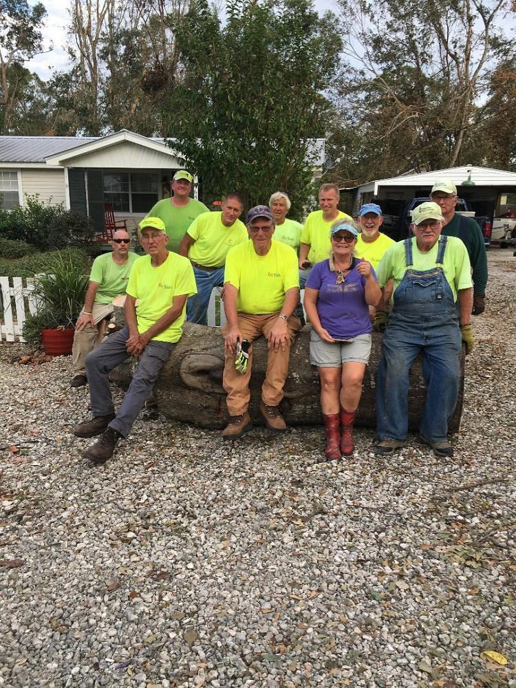 St. Marks United Methodist Church Sends Crews to Help Hurricane Relief Efforts