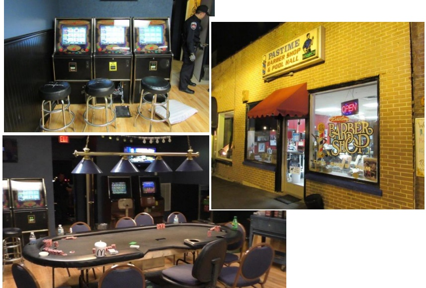 Vice Unit Investigates Illegal Gambling Operation on Murfreesboro Square