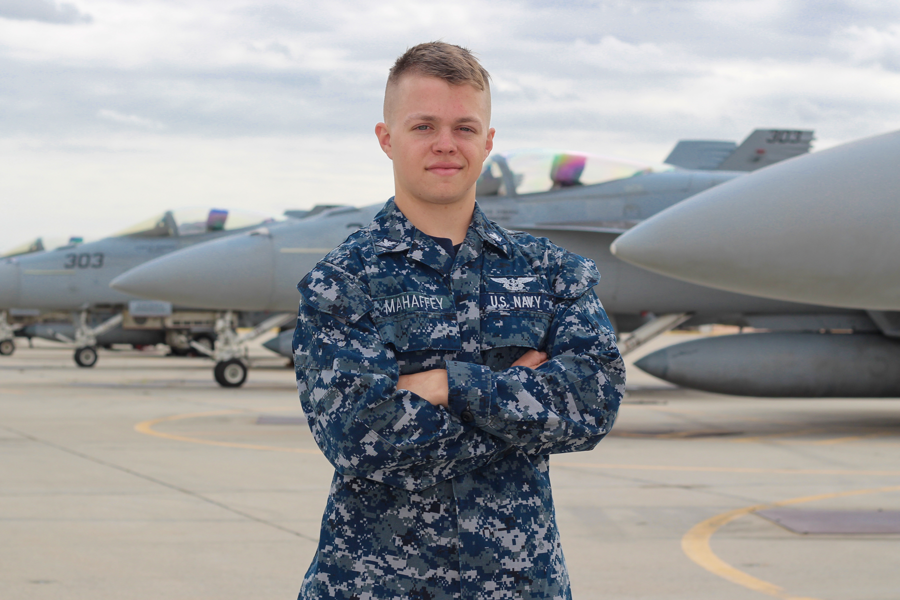 Murfreesboro Native serves with Navy Strike Fighter Squadron