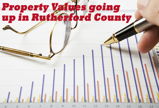 Local property values are on the increase