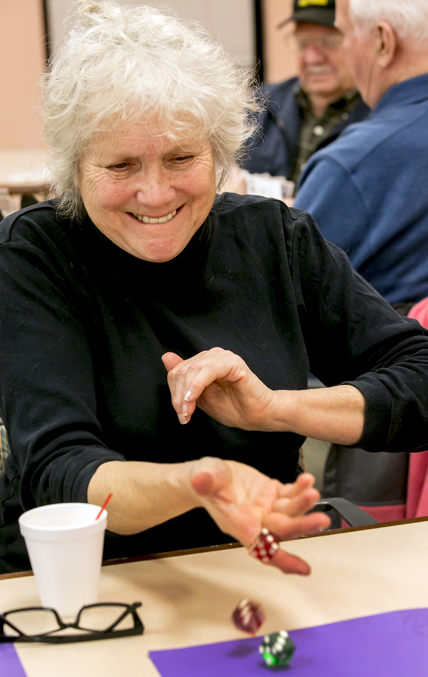 Photos of the February St. Clair St. Senior Center Dinner