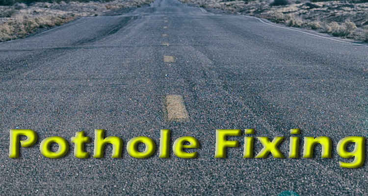 Expect More Potholes