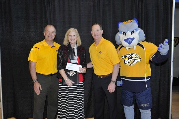 Read To Succeed receives $2,000 Nashville Predators Grant
