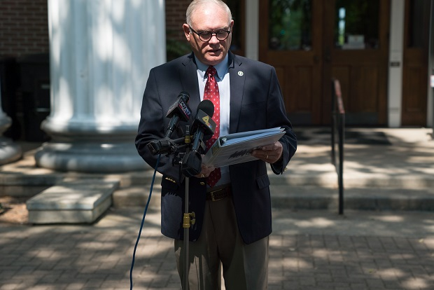 Commissioner Read Calls For Sheriff To Resign