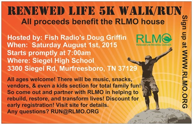 Like 5k's? Check out this race and register now! It will be on August 1st
