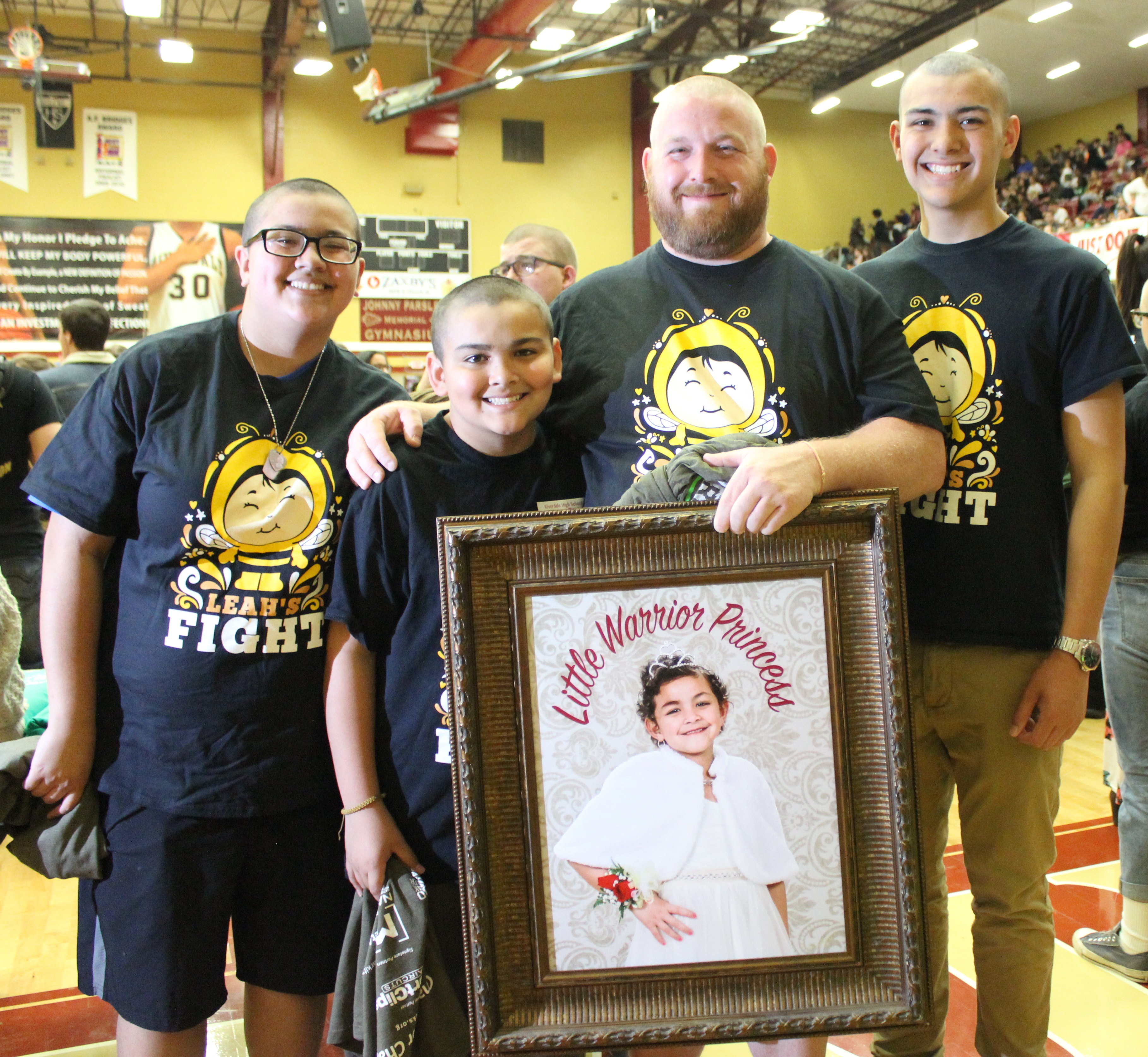Riverdale High School Raises about $40K for St. Baldrick's