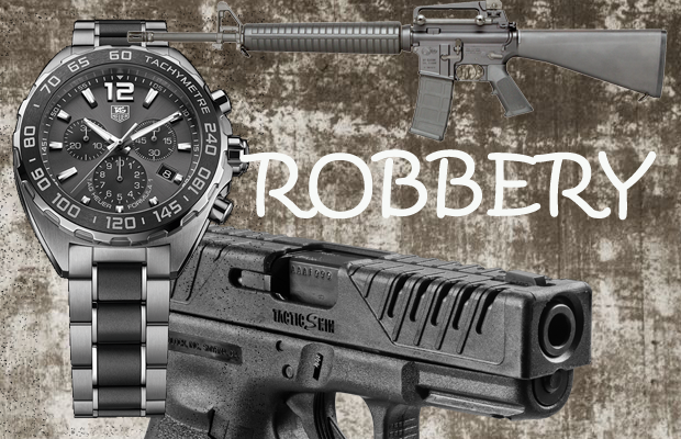 Robbery of guns on Rideout Lane in Murfreesboro