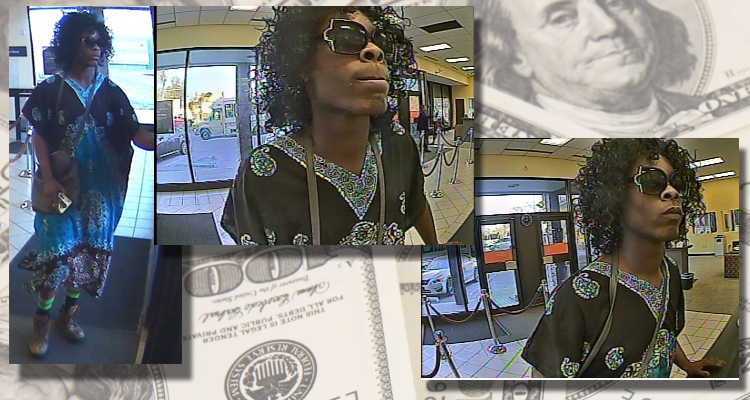 Man Tries to Rob Bank Dressed as a Woman in Nashville