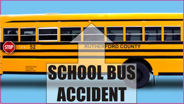 Three Injured in School Bus Accident