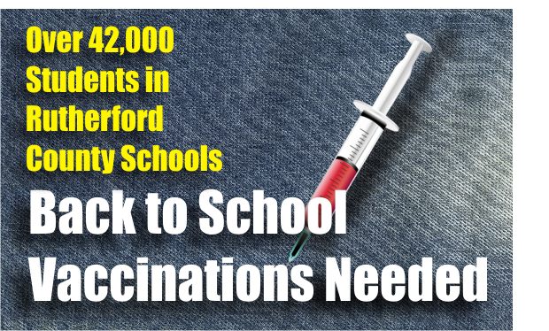 Children must have Proof of Immunizations for School