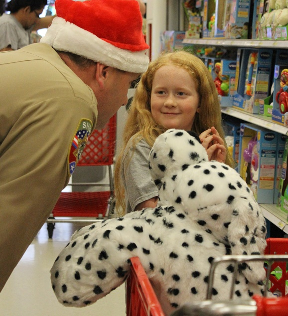 Annual Shop with the Sheriff Program a Success