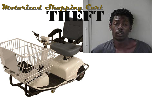 Kroger Motorized Shopping Cart Theft in Murfreesboro