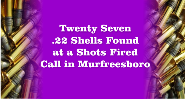 27 Shell casings collected at