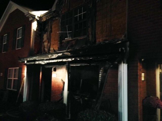 Thursday morning fire at Sitting Bull Crossing in Murfreesboro | Murfreesboro fire,fire,Sitting Bull,Murfreesboro
