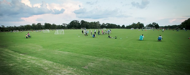 New Richard Siegel Soccer Practice Fields Open for Practice Play
