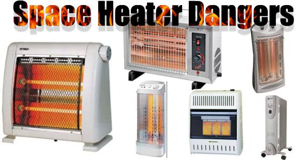 Strip heater damp locations