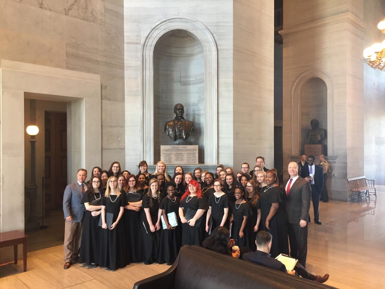 Stewarts Creek Choir 'Rocks the Tennessee House'