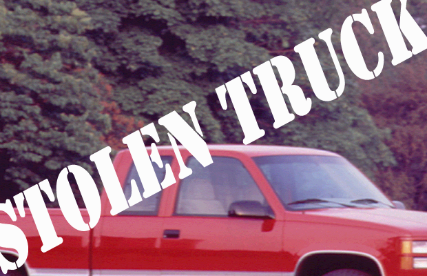 GMC Truck Stolen in Murfreesboro on Tuesday