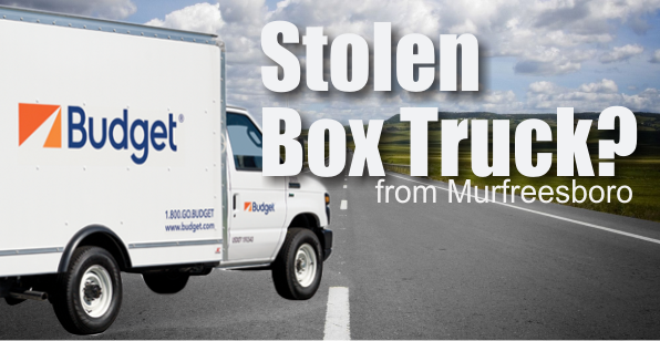 Box Truck Theft in Murfreesboro