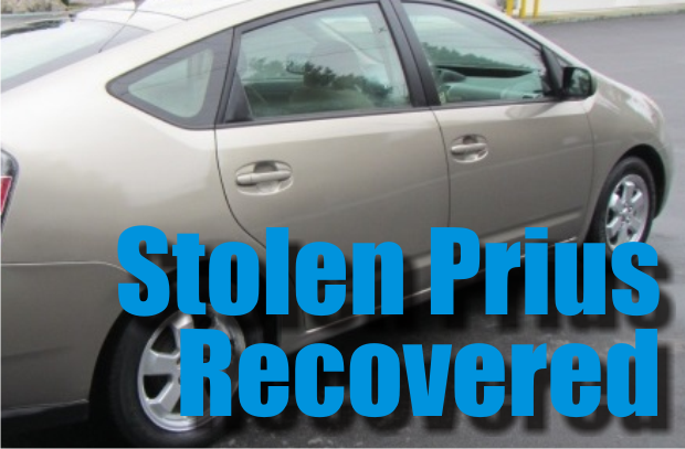 Stolen Prius Recovered in Murfreesboro