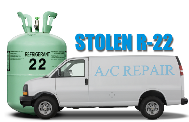 Theft of Over $20,000 worth of R22 Refrigerant in Murfreesboro
