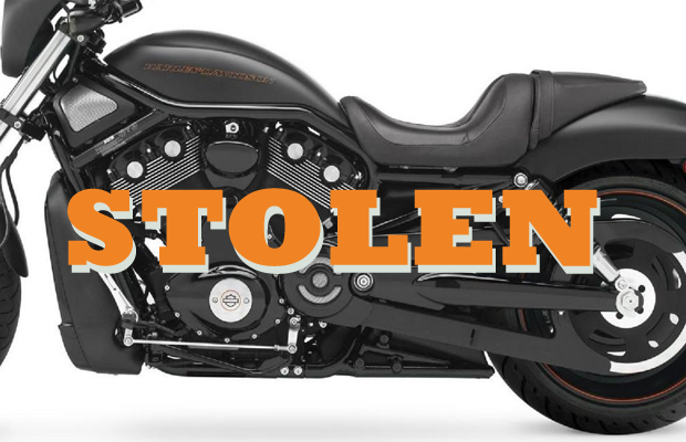 Harley Davidson stolen on Sunday