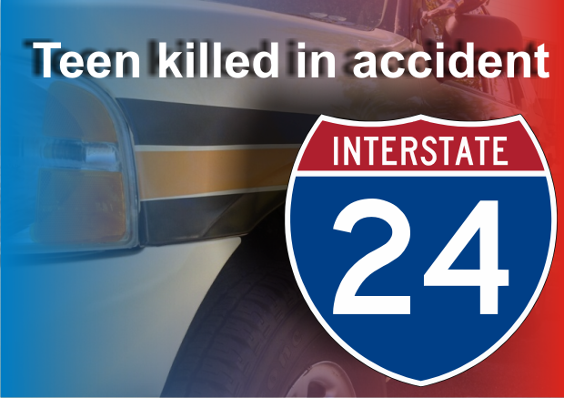 18 Year old dies in I-24 crash in nearby Coffee County