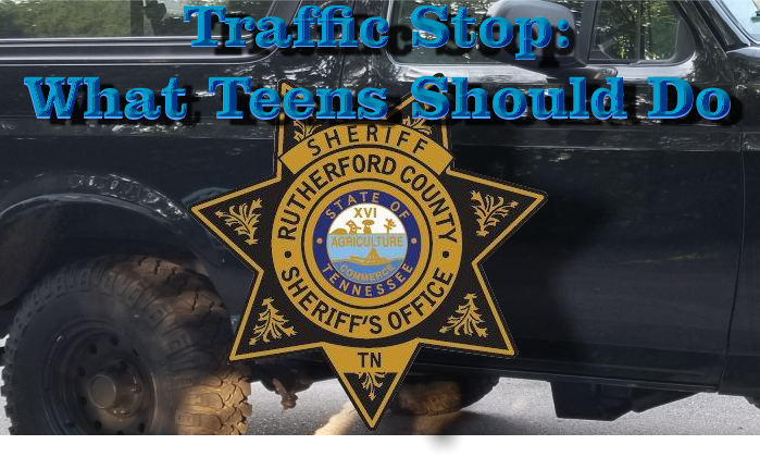Free class for teens on how to handle traffic stops - Saturday Afternoon