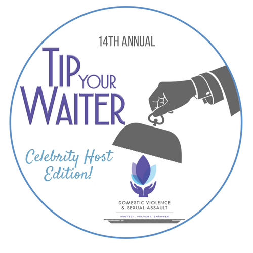 Announcing: Tip Your Waiter Luncheon, Celebrity Host Edition!