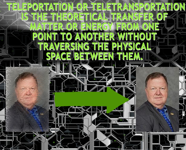 Teleportation of things or matter as discussed by an MTSU professor