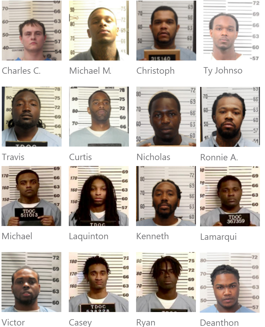 Turney Center Prison / Industrial Complex Disturbance on Sunday in Tennessee