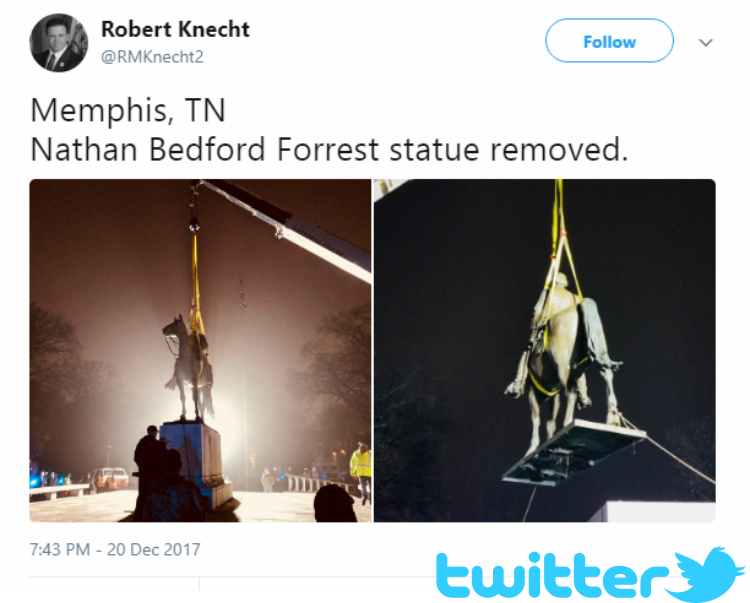 Local lawmakers chime in on the removal of historic statues in Memphis, TN