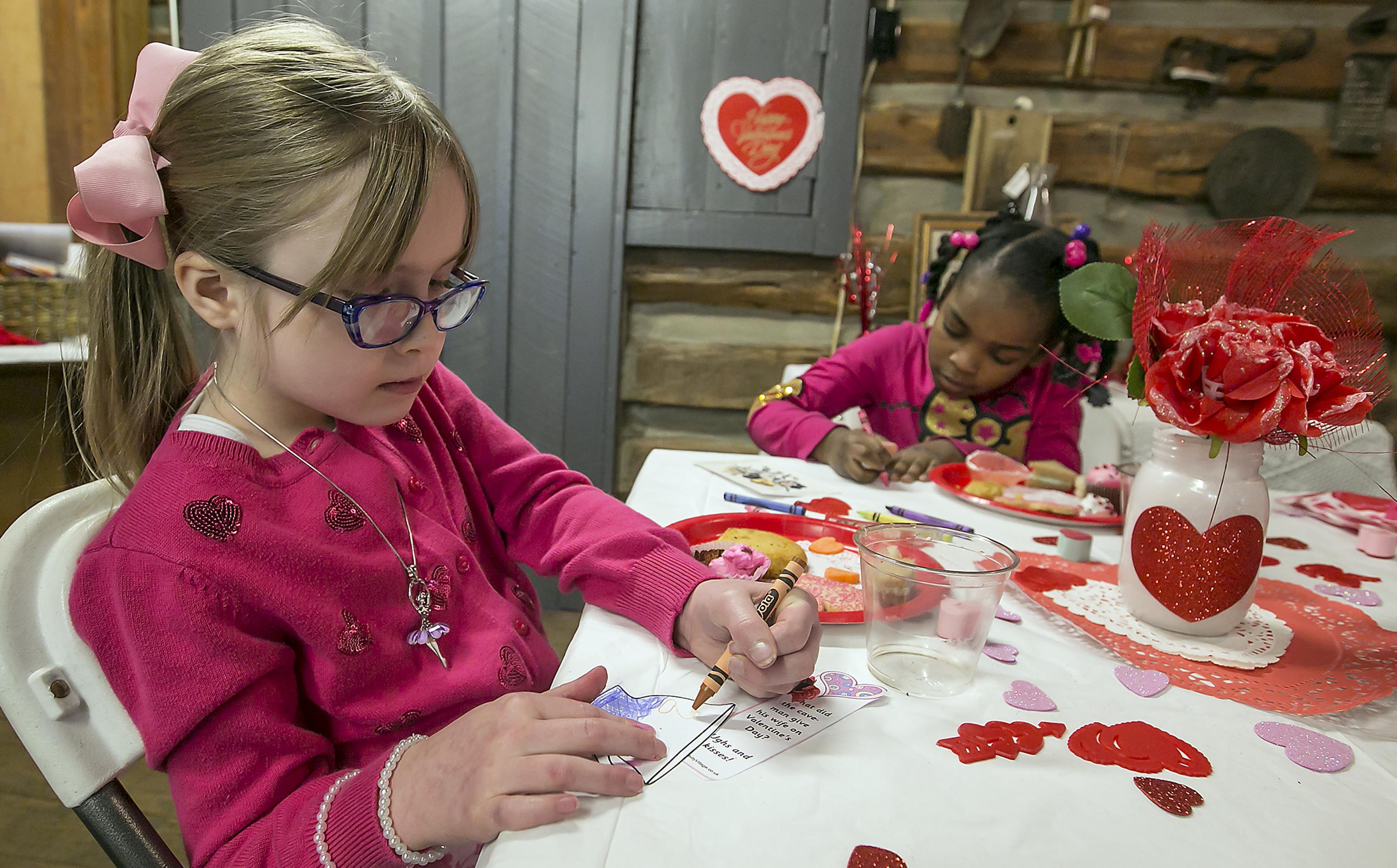 Children Loved The Cannonsburgh Village Valentines Day Tea