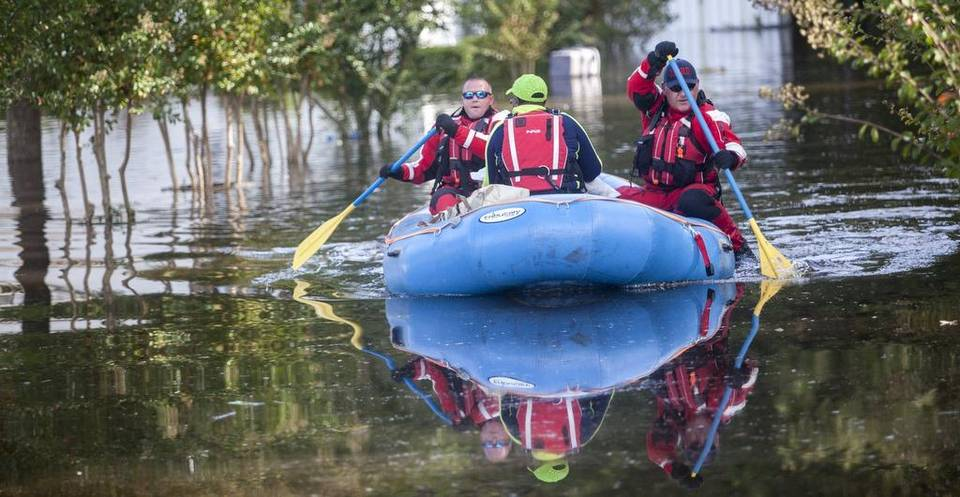 Murfreesboro Fire And Rescue Personnel Return From
