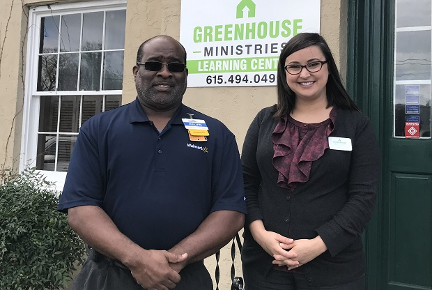 Greenhouse Ministries Receives grant from Walmart