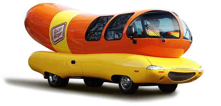 Here is your chance to take a selfie with the Oscar Meyer Weiner