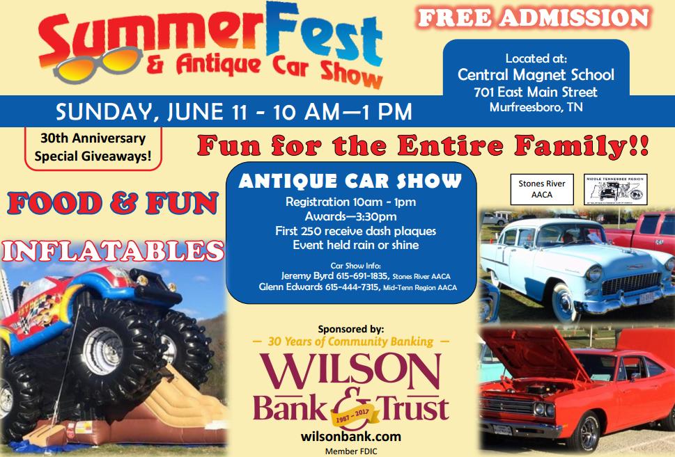Antique Car Show In Murfreesboro June Th This Sunday - Car show sunday