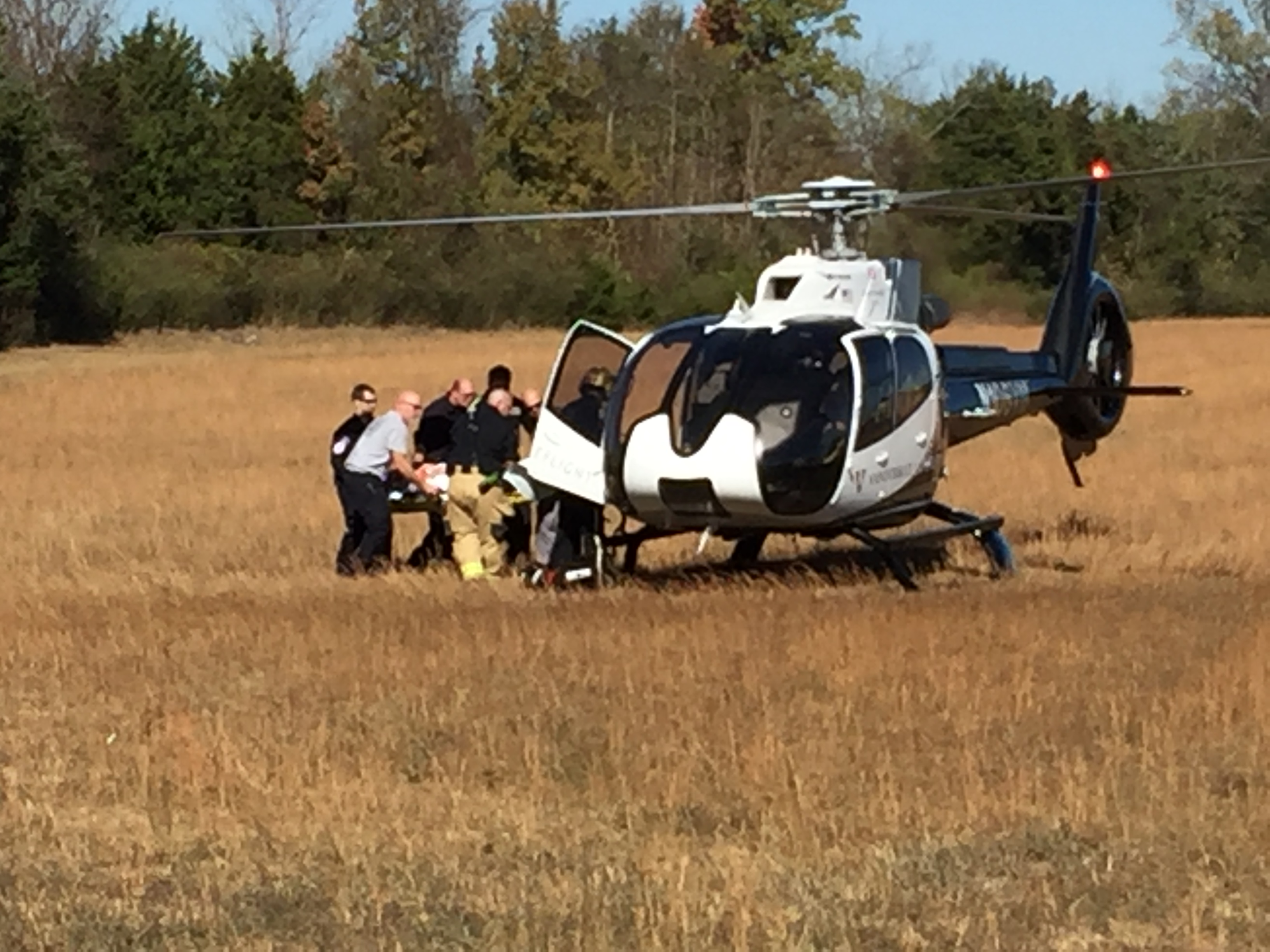 Missing man found in vehicle in Murfreesboro - Flown to Vanderbilt