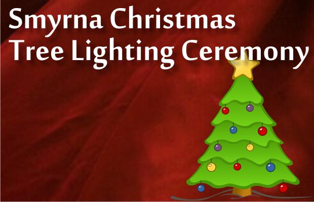 Lighting of the Smyrna Christmas Tree