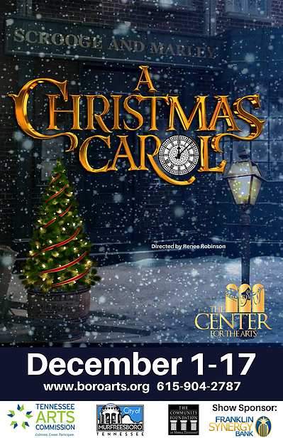 A Christmas Carol play comes to Murfreesboro