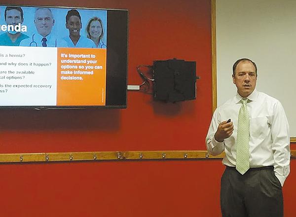 Barton Wood, MD Speaks on Hernias
