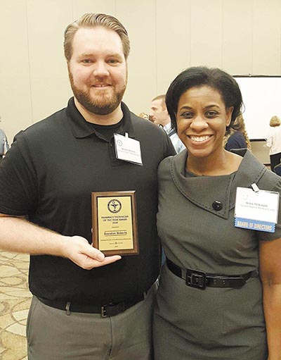 Roberts Named ALSHP Technician of the Year