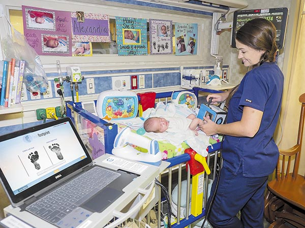 DCH among First in State to use New Infant Safety System