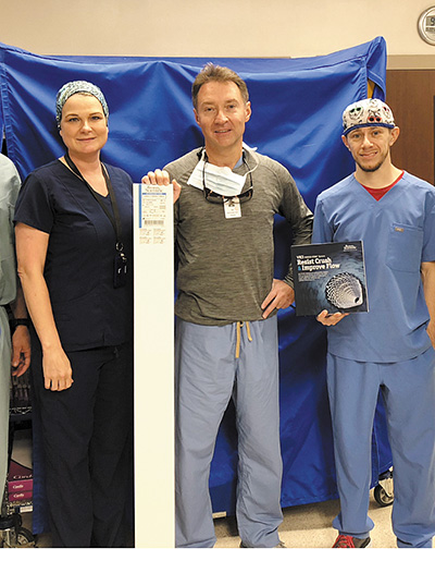 New Stent System Improves Treatment of Venous Obstructive Disease