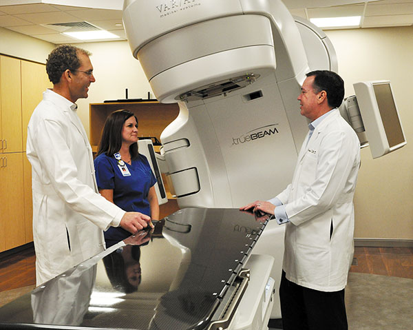 New Linear Accelerator at Lewis and Faye Manderson Cancer Center