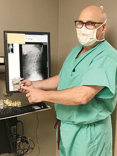 Artificial Lumbar Disc Replacement Offers Greater Movement