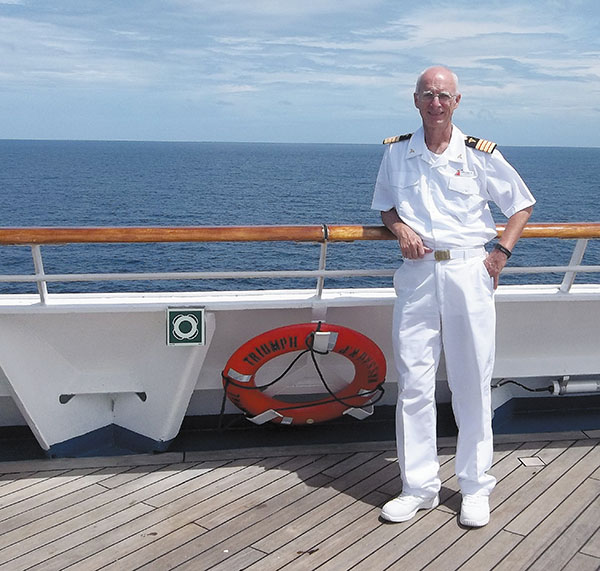 Physician Sets Sail for Adventure