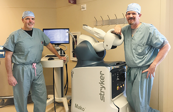Robotic-Arm Assisted Joint Replacement